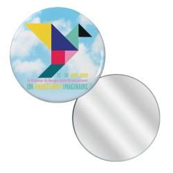 Badge miroir Affiche Printemps de Bourges 2020